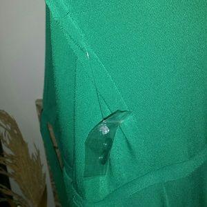 512e8020b1987 Modcloth Dresses - NWT Modcloth Say Yes To Timeless Wrap Clover 1X